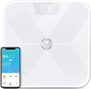 Etekcity Smart Bluetooth Body Fat Scale, Digital Weight Bathroom Scale with 13 Essential Measurements and ITO Conductive G...