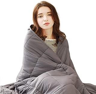 cotton blanket with silk trim