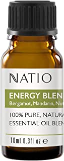 Natio Pure Essential Oil Blend, Energy 10 ml, Energy, 10 ml