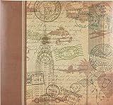 MCS MBI 13.5x12.5 Vintage Travel Scrapbook Album with 12x12 Inch Pages (860110)