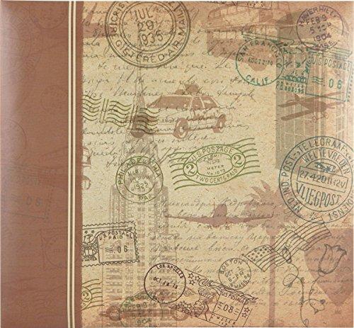 MCS MBI 860110 - Álbum de recortes de viaje (13,5 x 12,5 cm)