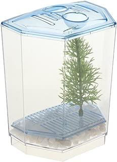 B Blesiya Betta Bowl Aquarium Kit Caja de Cría de Peces Contenedor de Alimentación de Plástico - 10 x 7 x 13 cm