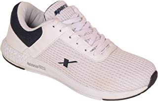 SPARX Men White Blue Running Sports Shoes