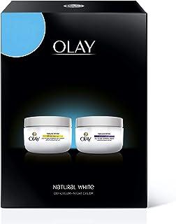 Olay Natural White Day Cream + Night Cream, 50 ml