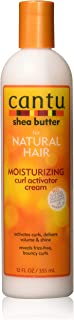 Cantu Natural Hair Curl Activator Cream 12 Ounce (354ml) (2 Pack)