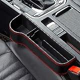 Autositz Gap Aufbewahrungsbox PU-Leder Auto Organizer Auto Organizer Utensilientasche für Autositze...