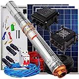 Kit Solar Bombeo Completo 300W + Bomba Sumergible + Controlador de Bomba Solar + Paneles Solares + Accesorios - PlusEnergy