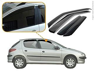 Calha de Chuva Peugeot 206 Hatch 4P 1999 2002 2005 2008 2009