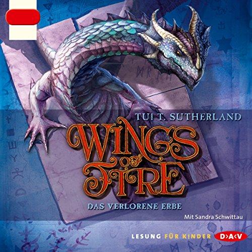 Das verlorene Erbe (Wings of Fire 2) cover art