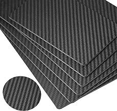 FiveEyes Carbon Fiber Sheets 400X500X3MM 100% 3K Twill Weave Carbon Fiber Plate Panel(Matte Surface)