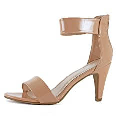 77a04c8608b Womens Stiletto High Heel Ankle Strap Party Sandals Shoes - Casual ...