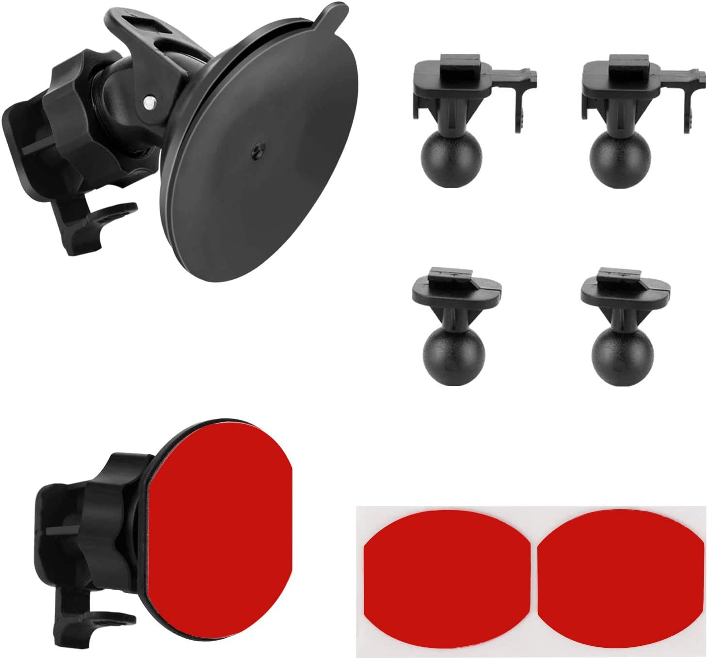 Suction Cup Mount for YI NEW before selling ☆ Compatibl Cam Dash Quality inspection Adhesive Glue