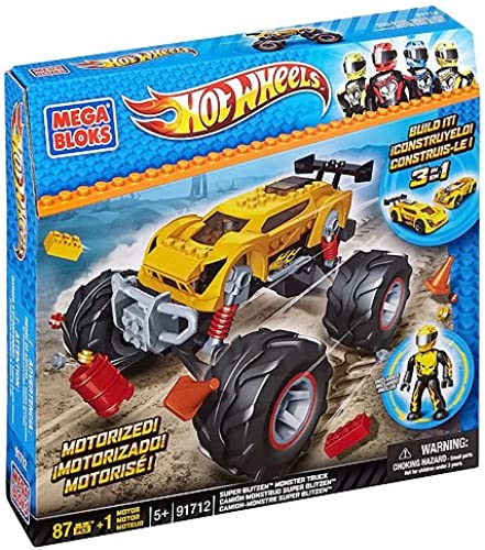 Mega Bloks 91712 - Hot Wheels - Super Blitzen Stunt Truck