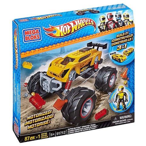 Preisvergleich Produktbild Mega Bloks 91712 - Hot Wheels - Super Blitzen Stunt Truck
