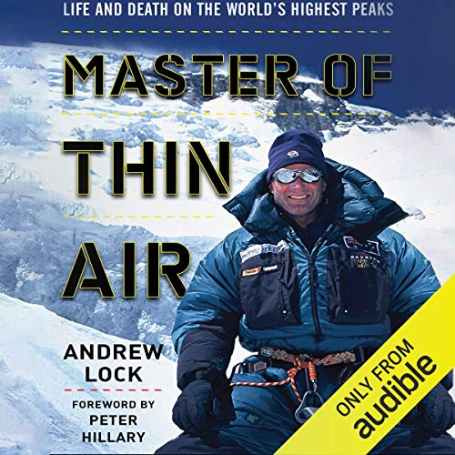 Master of Thin Air audiobook cover art