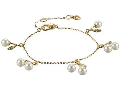 Kate Spade New York Cherie Cherry Charm Bracelet (Cream Multi) Bracelet