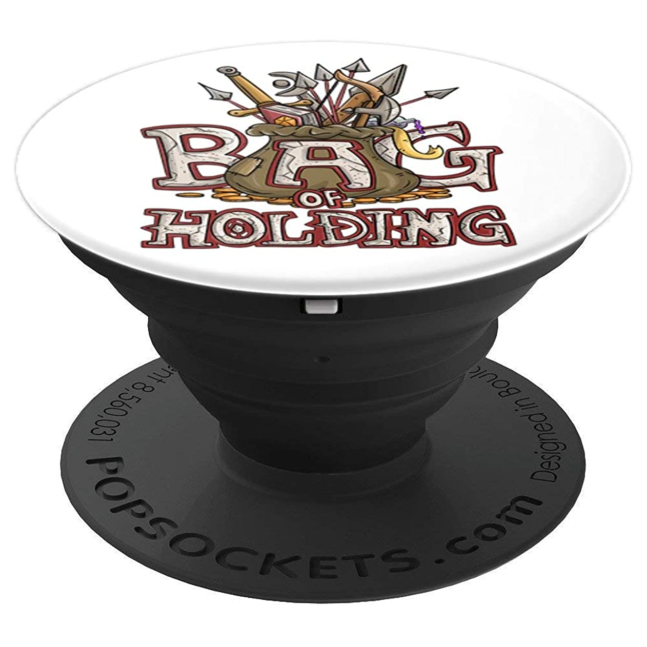 Bad Of Holding Funny DND DM D20 Joke D1 Dice Dungeon T-Shirt PopSockets Grip and Stand for Phones and Tablets nolgkoqsqfc41033