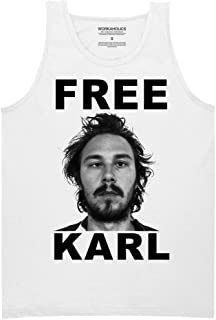 Ripple Junction Workaholics Free Karl Adult Muscle Tank 2XL White