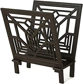 Frank Lloyd Wright LAKE GENEVA DESIGN Artchitect Gift Magazine Rack