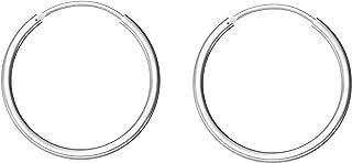 اقراط ستيرلينج سيلفر دائرية صغيرة مجموعة للانف والاذن ومناسبة للنساء والرجال والفتيات