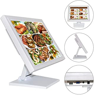 """15"""" Touchscreen Monitor LED Screen for Computer VGA POS Cashier Restaurant Bar Coffee Donut Store Menu Order Point of Sale..."""