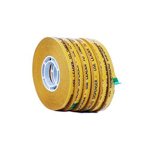 2 mils Thick 36 yds Length x 1//2 Width ProTapes Pro 154 ATG Acrylic Adhesive Transfer Tape 36 yds Length x 1//2 Width Pack of 1 Pack of 1 ProTapes /& Specialties Pro-154-2-1//2x36