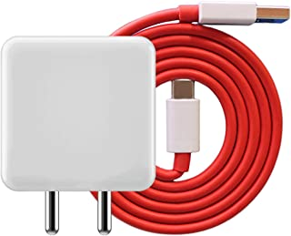 RSC POWER+ Adapter with Type C Cable Supported for One Plus 6 (s2-1+6-Charger)