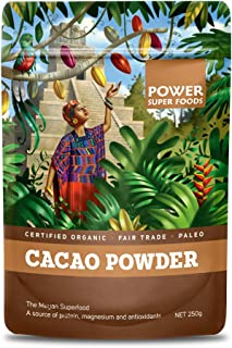 Power Super Foods Organic Cacao Powder 250 g