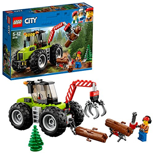 LEGO- City Trattore Forestale, Multicolore, 60181