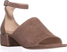 NINE WEST Womens Yorada Suede Peep Toe Casual Ankle, Natural Suede, Size 5.5