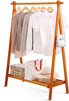Amazon.com: COAT RACK Solid Wood Floor Hanger Floor Standing ...