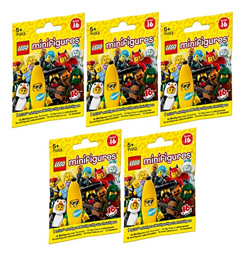 LEGO Minifigures - Série 16 - Complete - 71013-17