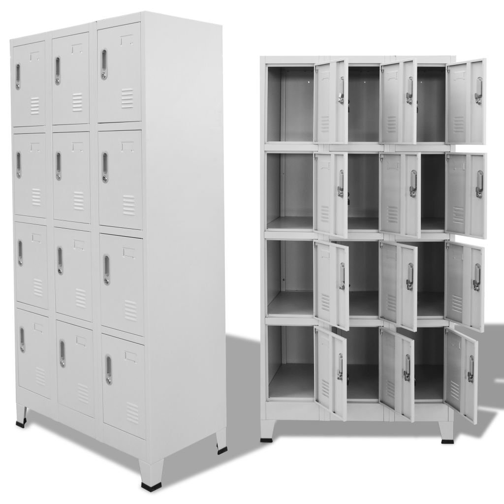Amazon.com: Lepeuxi Metal Storage Cabinet Storage Locker Tall