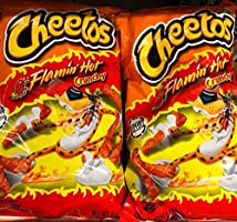Cheetos Flamin Hot Crunchy Large 226 gm Pack of 2