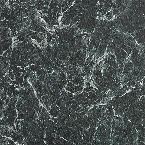 Achim Home Furnishings MJVT180510 Majestic Vinyl Floor Tile, 18 x 18 inches, Verde Green Marble,...