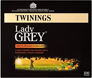 Twinings Lady Grey Tea Bags (100)