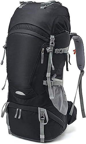 LCNINGBB Sac à Dos de randonnée Sports 55L   65L Sac à Dos à Cadre Interne Loisirs Alpinisme Sac à Dos de Camping avec Rain Cove