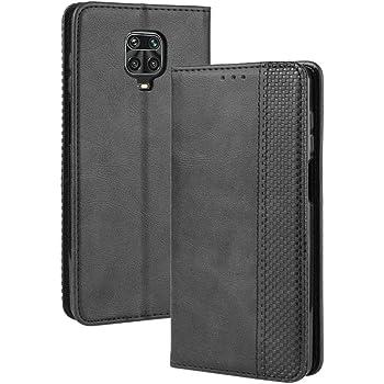Per Xiaomi Redmi Note 9 8 9S PRO Magnetic modello in pelle FLIP Wallet CUSTODIA COVER
