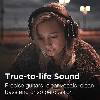 COWIN E7 Active Noise Cancelling Headphones Bluetooth Headphones with Microphone Deep Bass Wireless Headphones Over E...