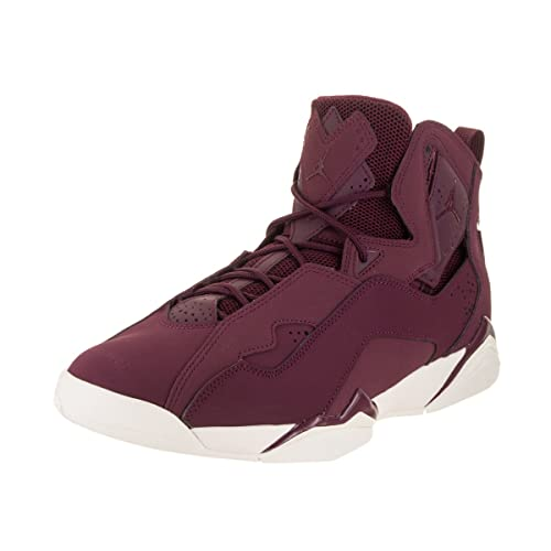 huge selection of 740fc 15580 Jordan Men s True Flight Basketball Shoe, Bordeaux Bordeaux-Sail 10