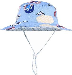 bleu GAOU Bonnet de soleil b/éb/é gar/çon en coton Taille M