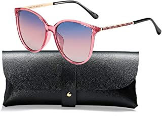 Polarized Sunglasses for Women 100% UV Protection Vintage Cateye Sunglasses Anti-glare Lens