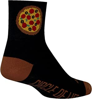 SockGuy, Slice, Classic Sock, Sporty and Stylish, 3 Inches - Small/Medium
