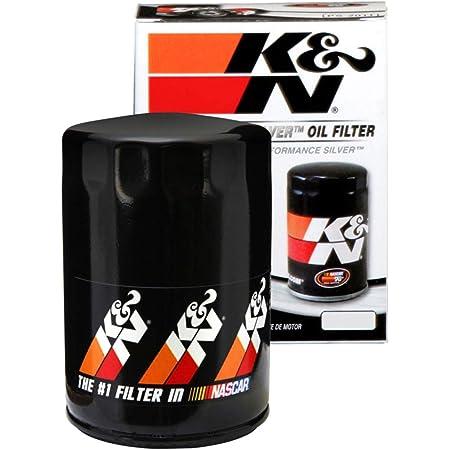 K&N Filtro de aceite premium: diseñado para proteger tu motor: compatible con modelos de vehículos seleccionados de AUDI/VOLKSWAGEN (ver descripción del producto para la lista completa de vehículos compatibles), PS-3004