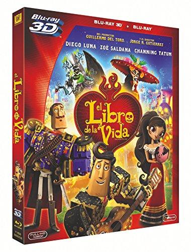 El Libro De La Vida (3d+ Blu-Ray) [Blu-ray]