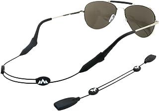Philonext Gafas de retención, Universal Fit cuerda Gafas de retención, ajustable unisex de los deportes de gafas de sol Soporte para la correa de retención, juego de 2