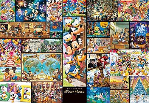 Yzqxiongtu Cartoon Mickey Mouse puzzel 1000 stukjes, Houten speelgoed Legpuzzels Kinderen Educatief geschenk, Stressspellen voor volwassenen