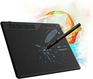 GAOMON S620 6.5 x 4 Inches Graphics Tablet with 8192 Passive Pen 4 Express Keys for Digital Drawing & OSU & Online Teachin...