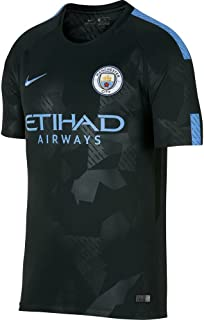 Nike Youth Manchester City FC FC Stadium Jersey [Outdoor Green]
