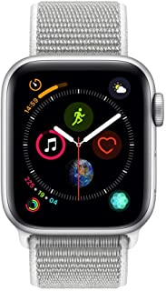 Apple Watch Series 4 - 44mm Space Silver Aluminum Case with Seashell Sport Loop, GPS, watchOS 5